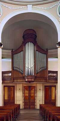 Poznań organy w kościele p.w. św. Jana Maria Vianney
